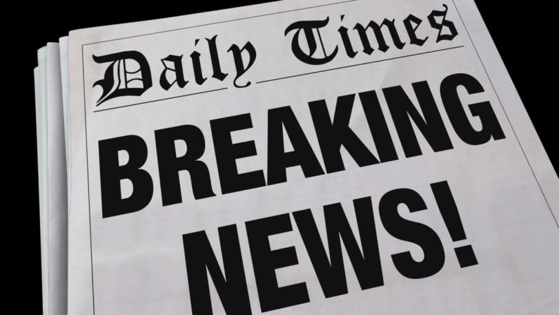 Breaking Newspaper