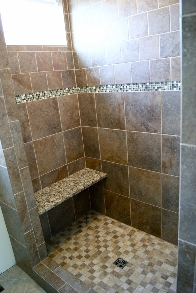 Custom Master Shower Robert Burden Custom Tiling