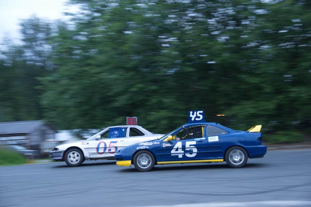 Auto Cross Saratoga Speedway