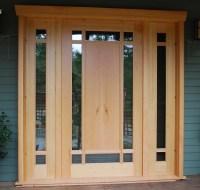 Custom wood doors   Saratoga Woodworks   Craftsman style ...