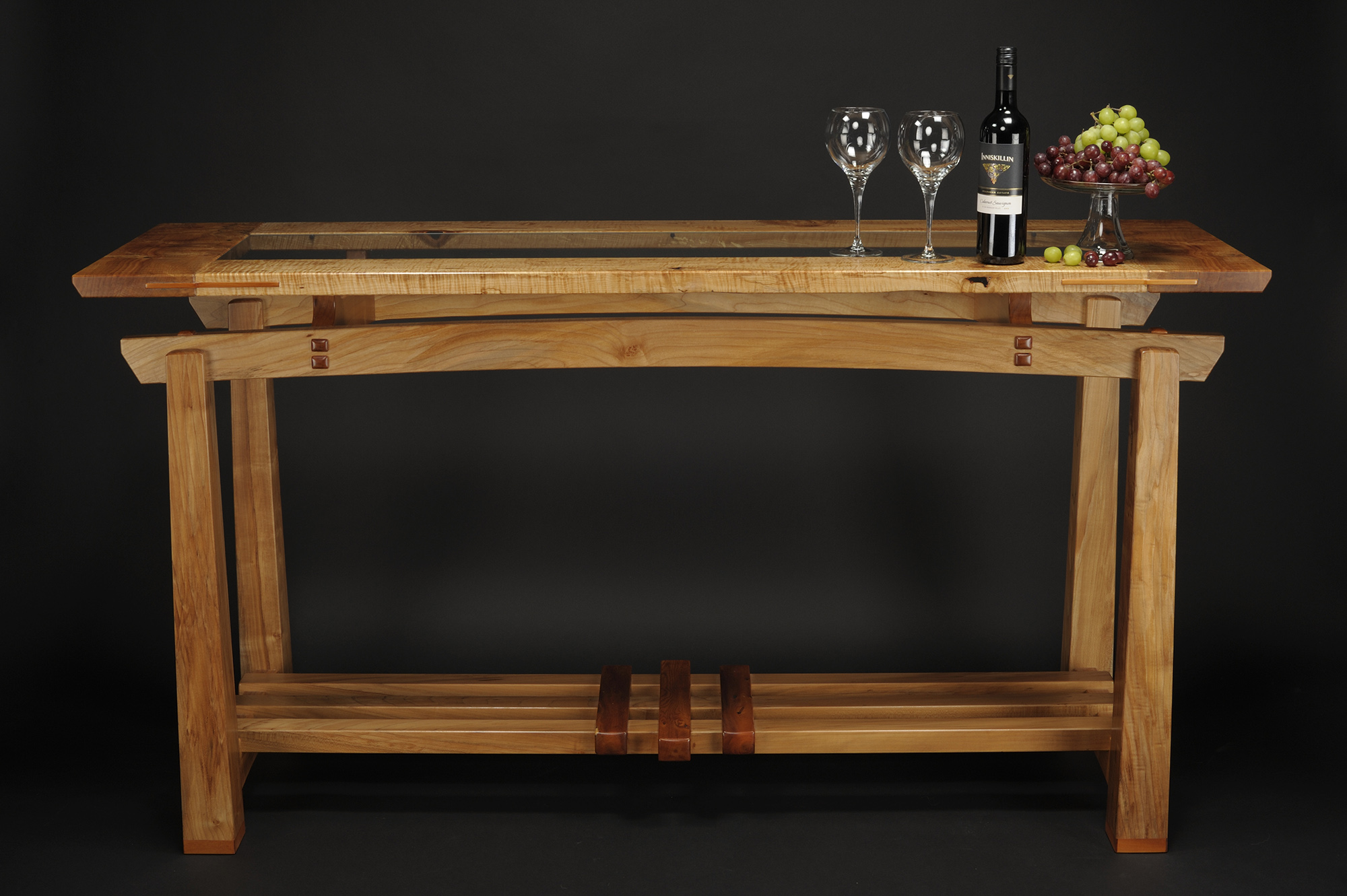 Tasting Table Sofa Table  Saratoga Woodworks