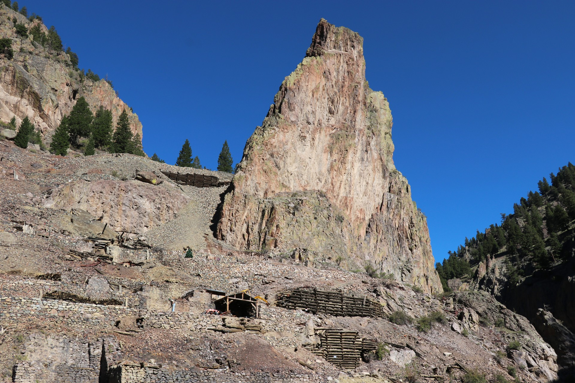 Historic Mining Site Photographed By Sara Turbyfill On The Bachelor Loop.