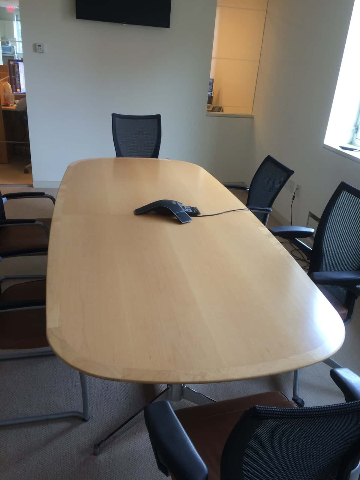 Used Table And Chairs Used Conference Room And Break Room Furniture And Tables