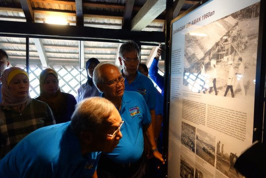 A keen historian, CM verifies the facts on display