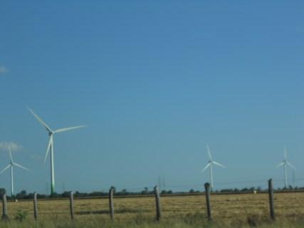 A windmill farm