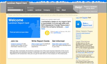 Landman Report Card, 2010.