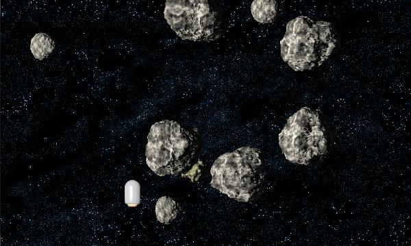 Dodging Asteroids - Good