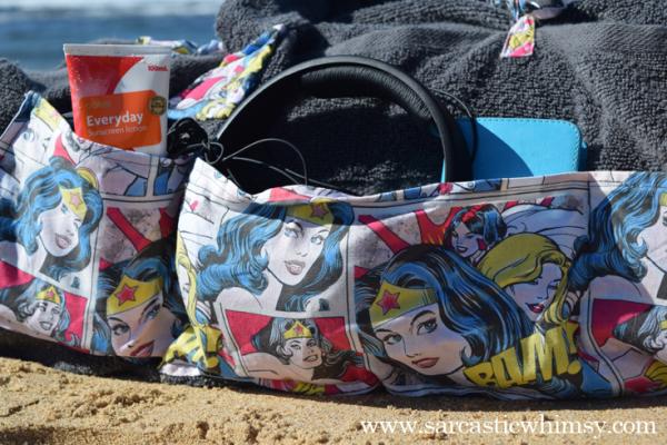Sew a Roll Up Beach Bed. Comprehensive Wonder Woman CraftTutorial.
