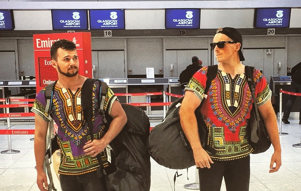 Matt & Ben Kilimanjaro – M&B at airport (3)