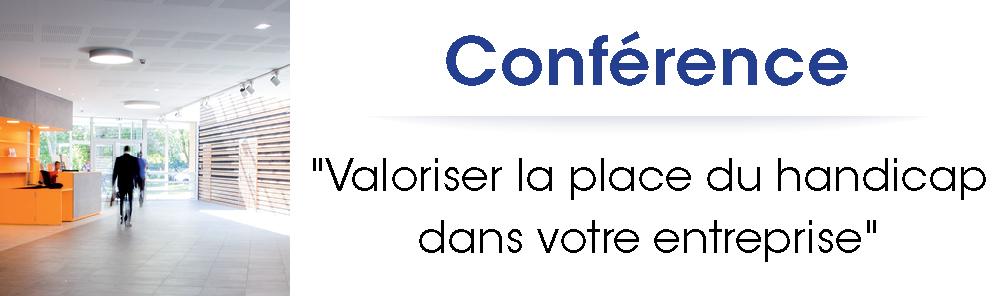 """Conférence """"Valoriser la place du handicap dans votre entreprise"""", jeudi 9 juin 2016 à Nogent-sur-Oise"""