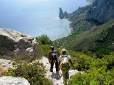 Trekking itinerante di sei giorni, Cala Fuili Pedra Longa