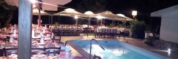 Agriturismo La Quercia - Cena a bordo piscina
