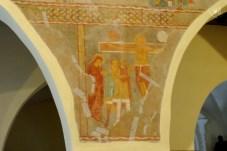 Galtellì: affresco sulla crocifissione - Foto di Sardegna Terra di Pace - Tutti i diritti riservati