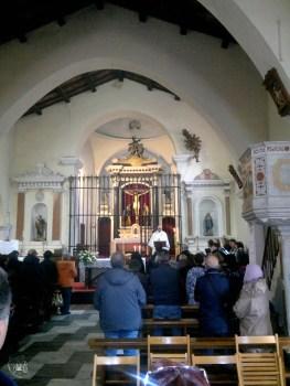 Galtellì: interno del Santuario del Santissimo Crocifisso - Foto di Sardegna Terra di Pace - Tutti i diritti riservati