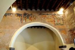 Galtellì: parete con affreschi - Foto di Sardegna Terra di Pace - Tutti i diritti riservati
