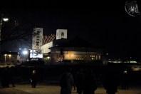 Medjugorje: veduta notturna della Chiesa (2) – Foto di Sardegna Terra di Pace – Tutti i diritti riservati