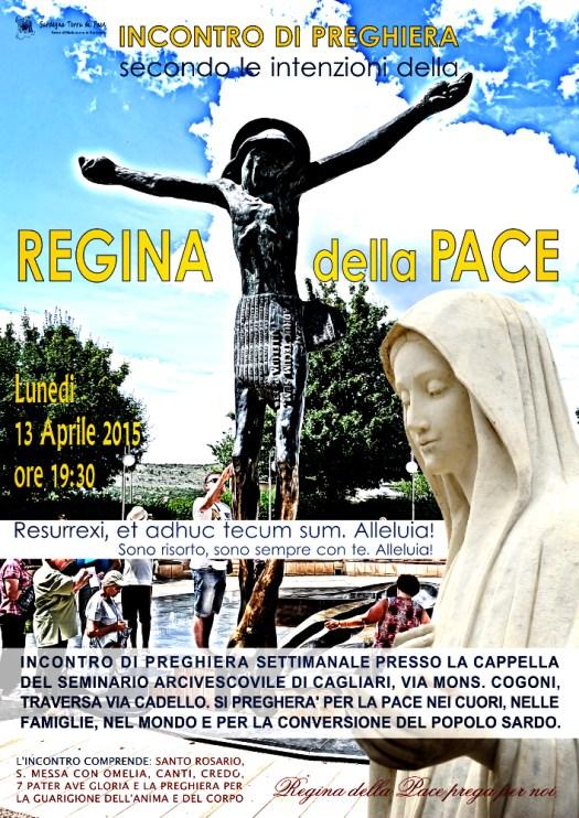 Locandina Incontro di Preghiera Settimanale del 13 Aprile 2015