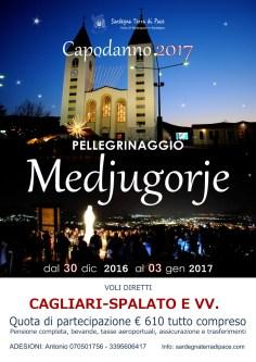 Locandina Pellegrinaggio Medjugorje Capodanno 2016/2017 – Foto di Sardegna Terra di Pace – Tutti i diritti riservati