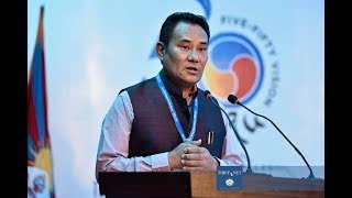Five-Fifty Forum: Introductory Remarks by Kalon Choekyong Wangchuk, Sept. 14, 2018