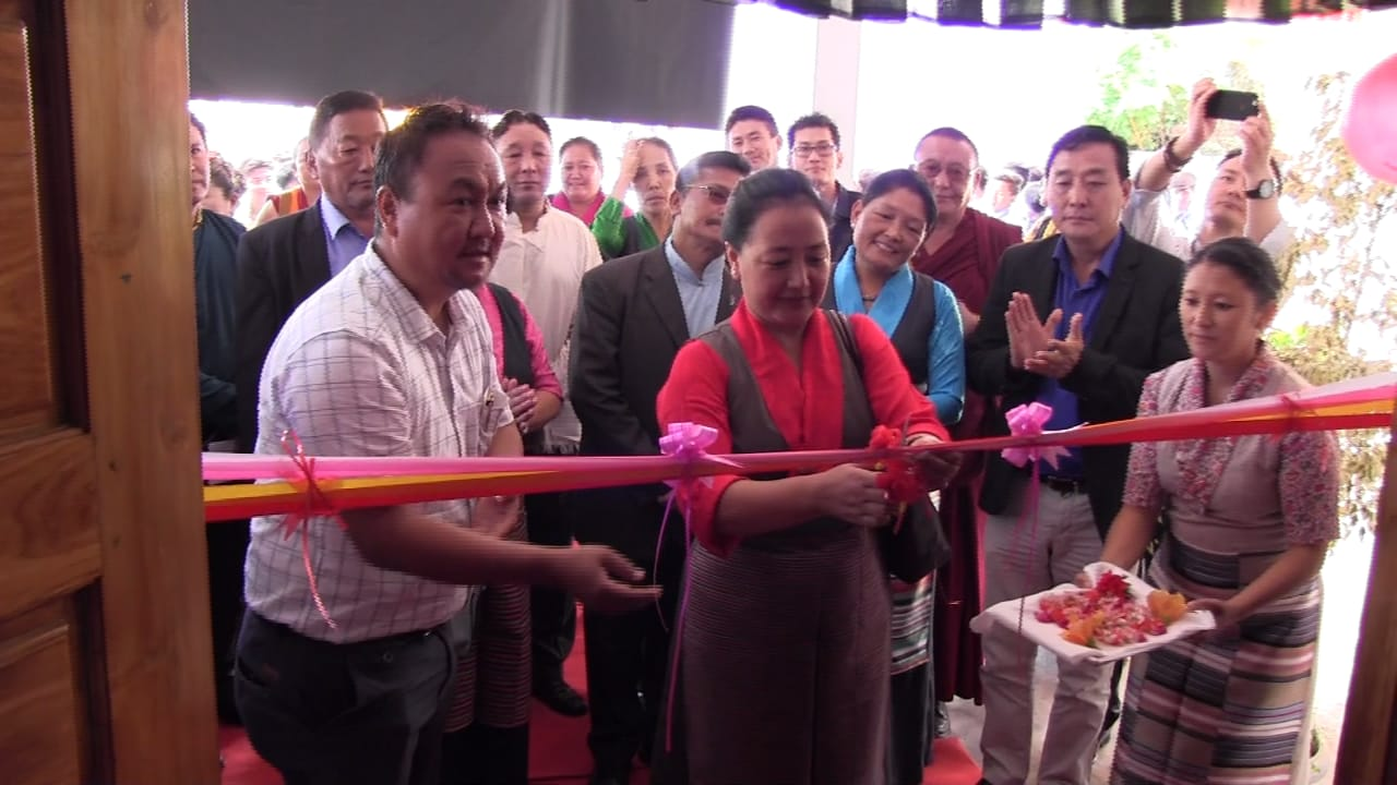 Honorable Education Minister Inaugurates 3rd Career Fair at Bylakuppe