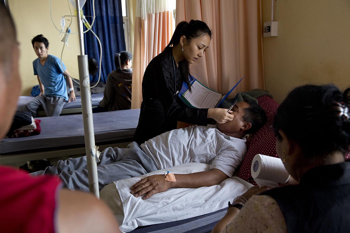Major Study Finds High TB Infection among Tibetan school children.