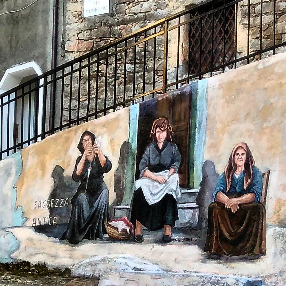 Saggezza antica nei murales di Orgosolo