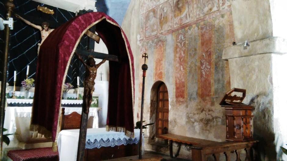 Chiesa di Santa Rughe - interno