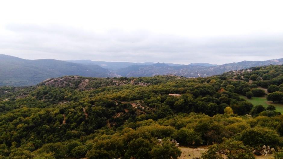 La Barbagia vista da Lodine