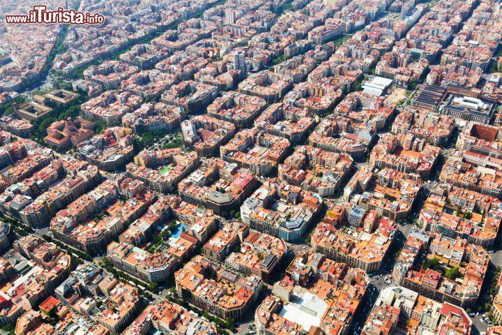 Eixample dall'alto. Fonte: www.ilturista.info