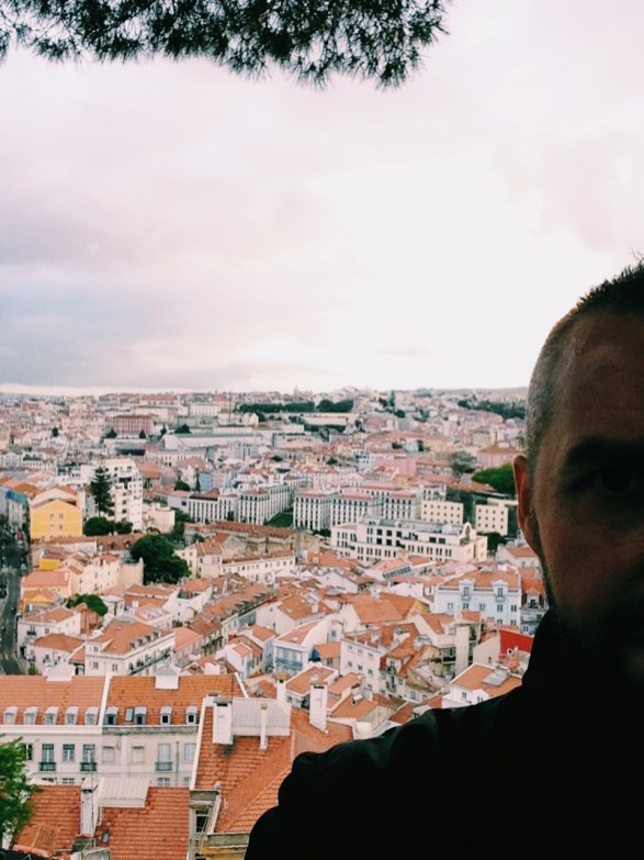 Panorama dal miradouro di Graca