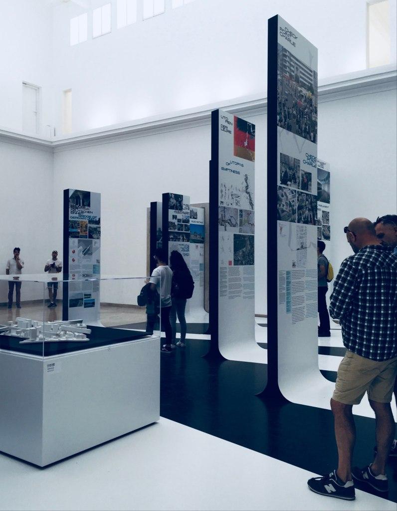 Biennale Architettura 2018 cosa vedere: padiglione della Germania