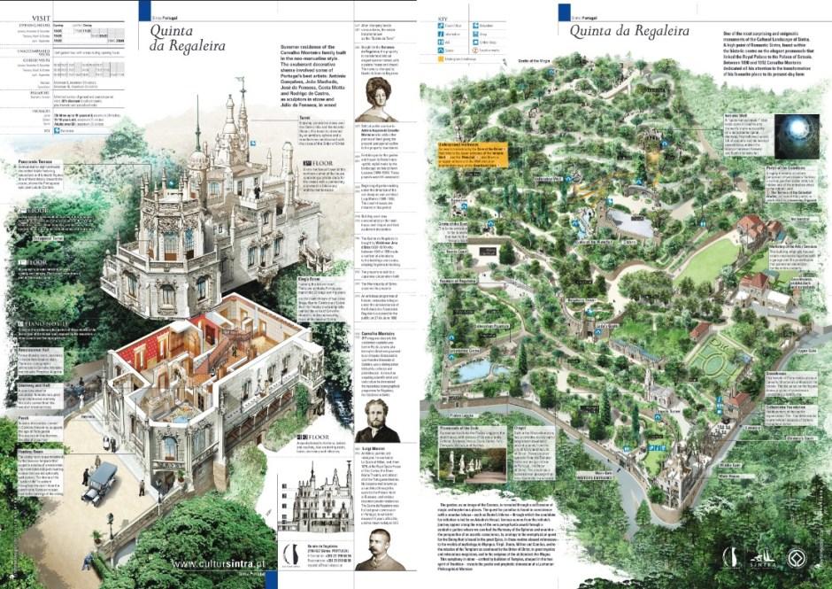 Quinta da Regaleira mappa