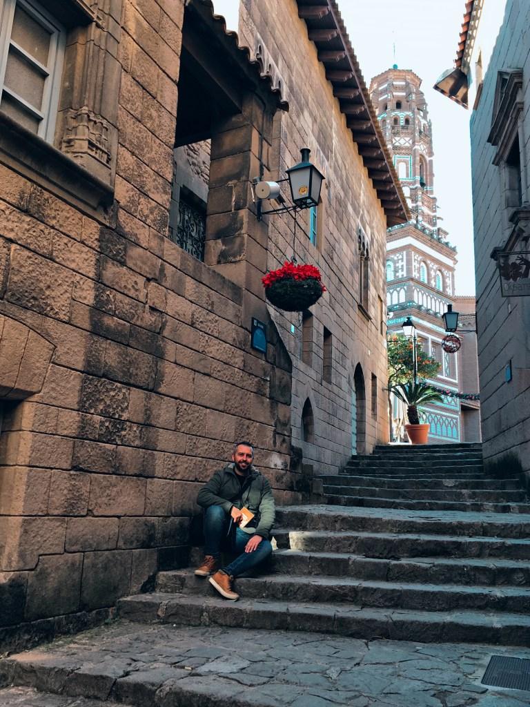 El Poble Espanyol di Barcellona