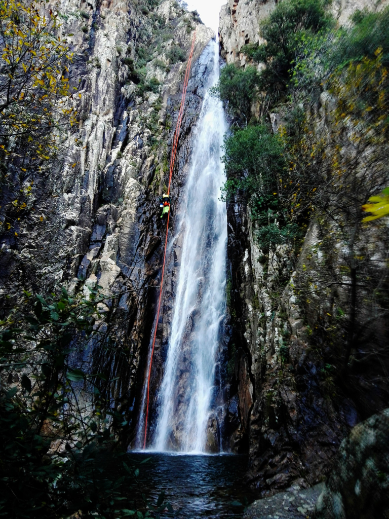 things to do in sardinia, 50mt waterfall, waterfalls in sardinia
