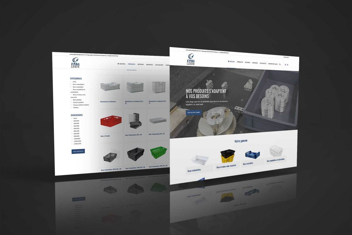 Site web Embalogik à Gotein Libarrenx