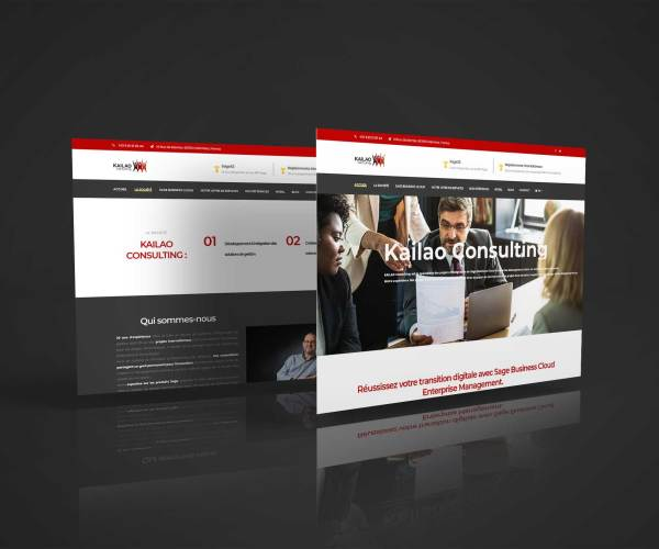 Site web Kailao Consulting