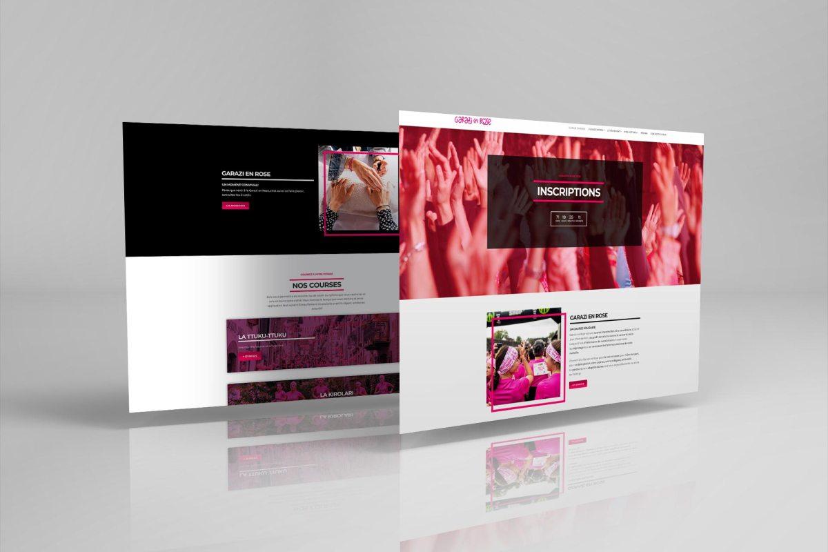 Site internet Garazi en Rose