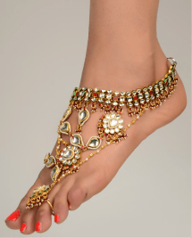 Gold Foot Jewelry