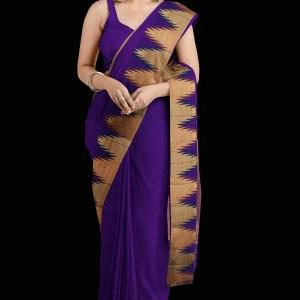 Purple Kanjivaram Silk