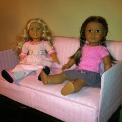 18 Doll Sofa Diy Nubra Beds A Or Couch For American Girl Dolls Saree