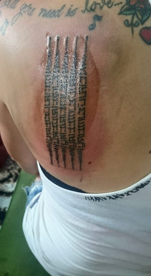 Getting a Sak Yant or Protection Tattoo in Thailand