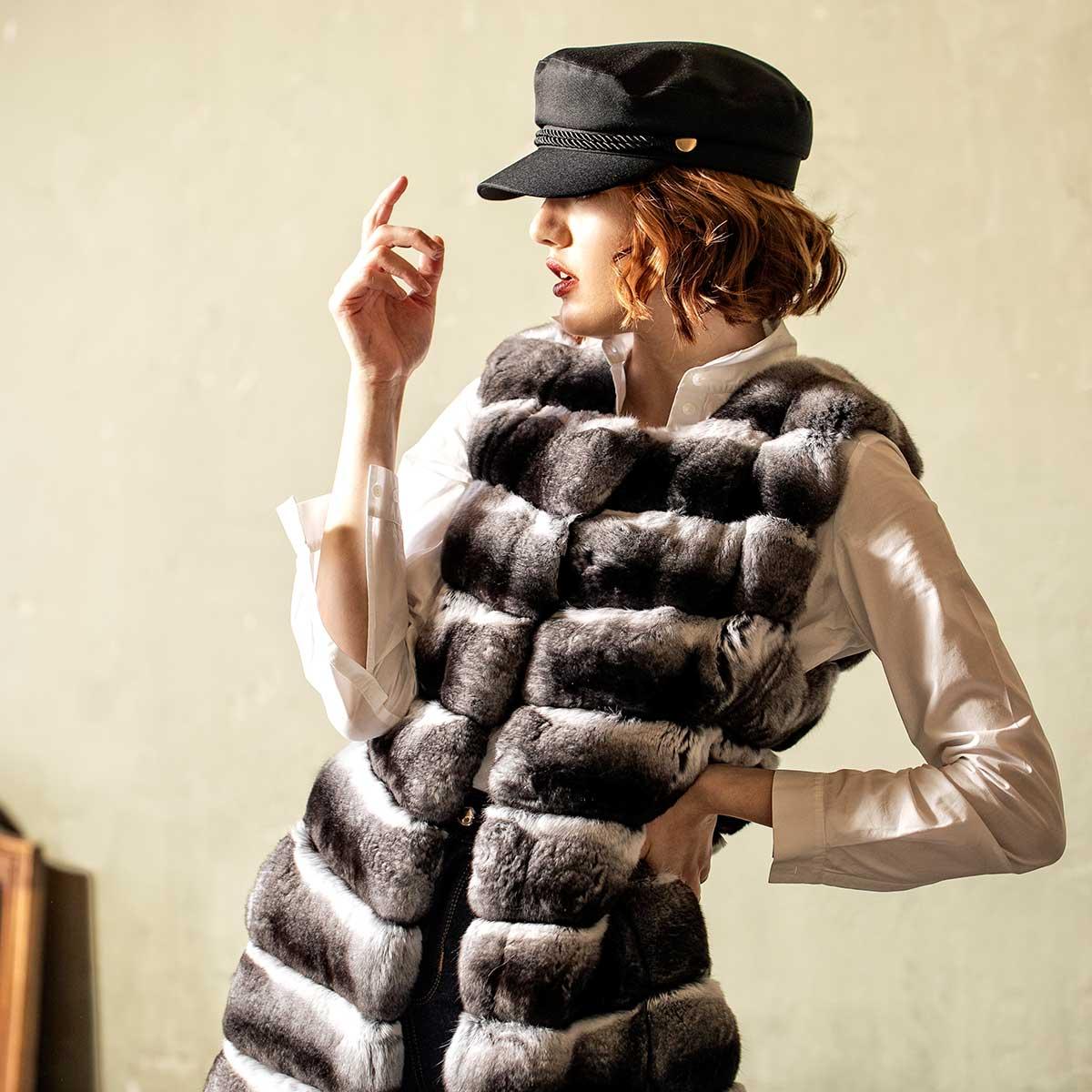 шубы и меховые аксессуары - Sarigianni Fur Fashion