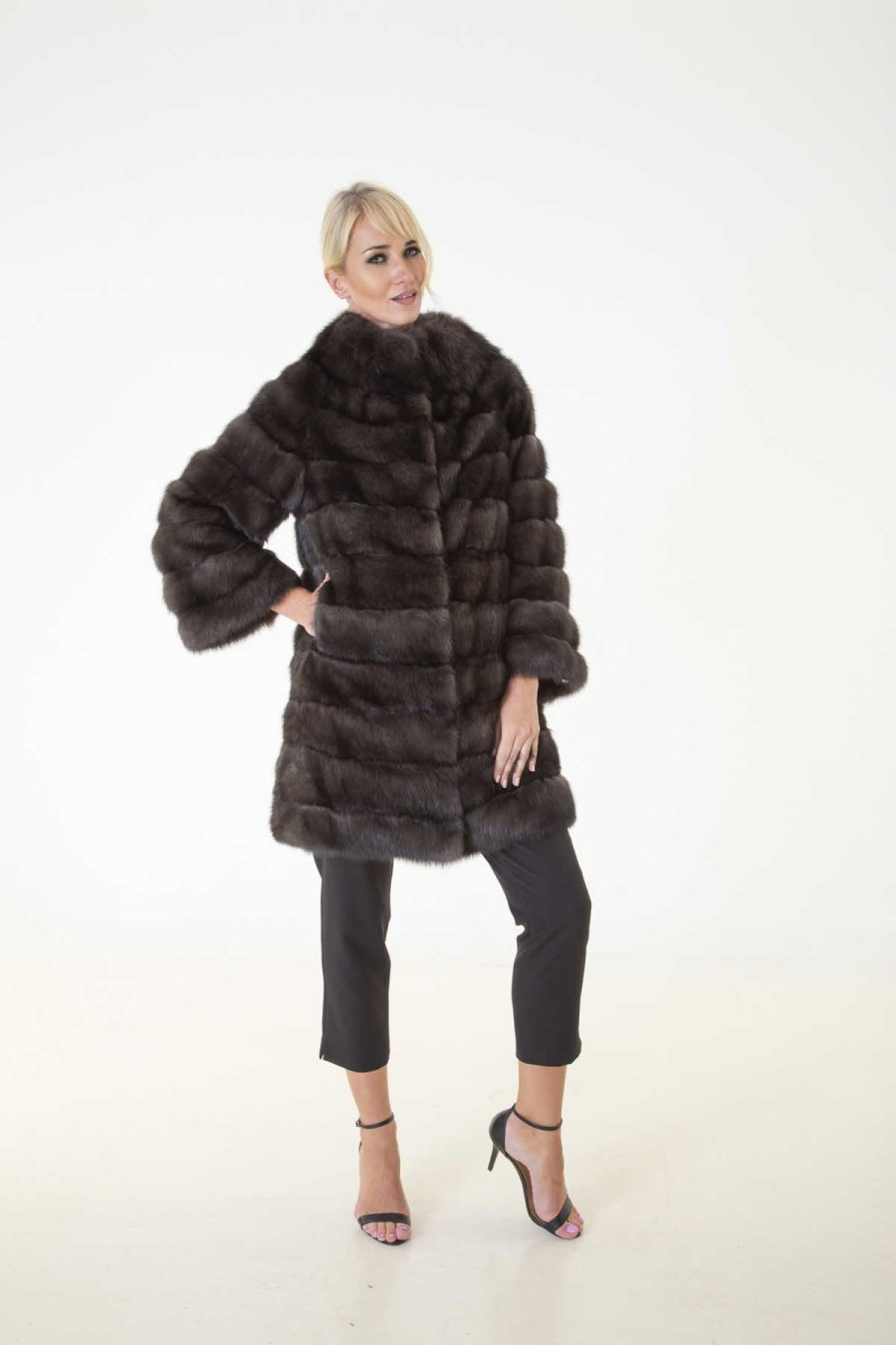 Barguzin Sable Fur Jacket | Sarigianni Furs