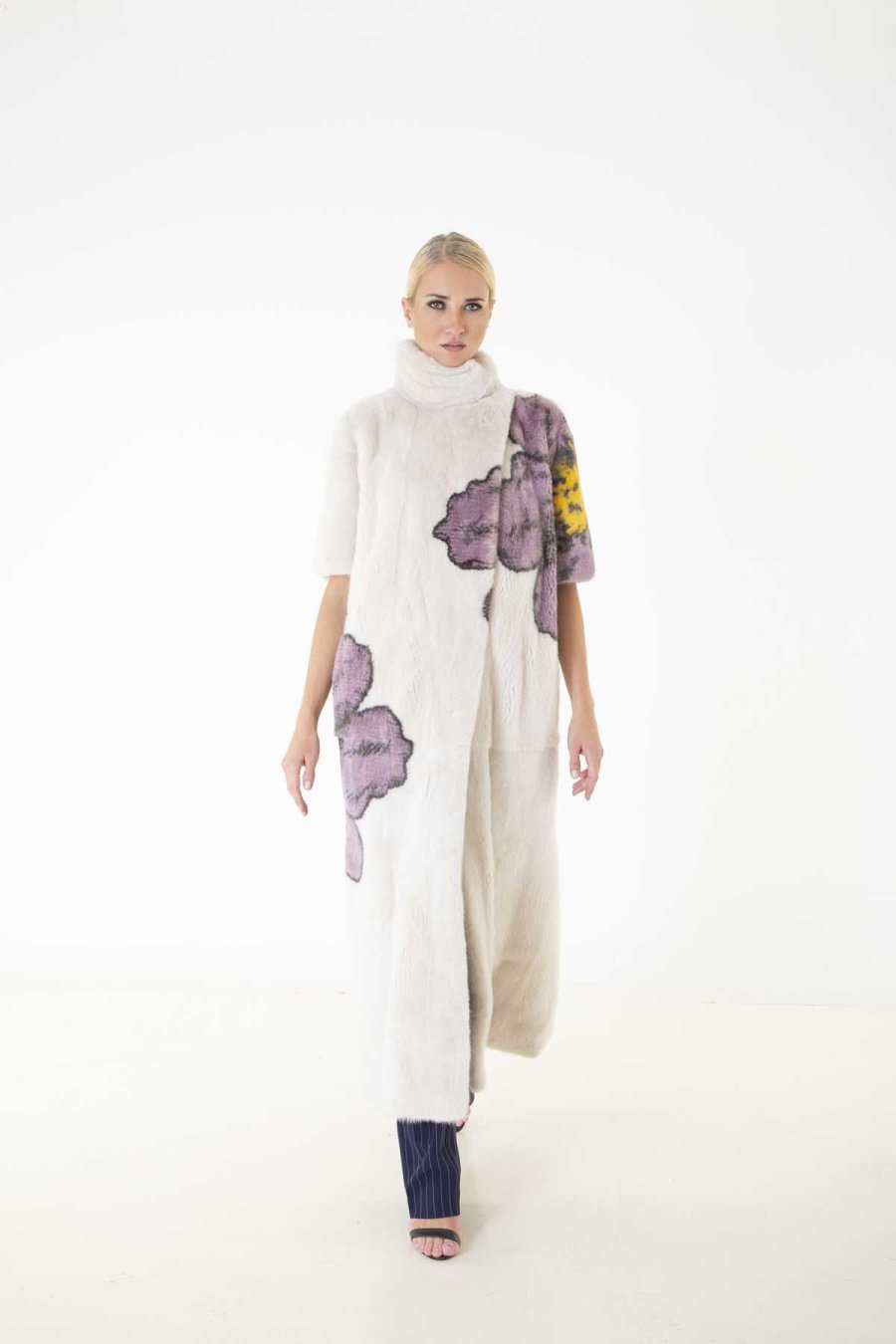 Beige Male Mink Coat | Шуба из норки бежевого цвета - Sarigianni Furs