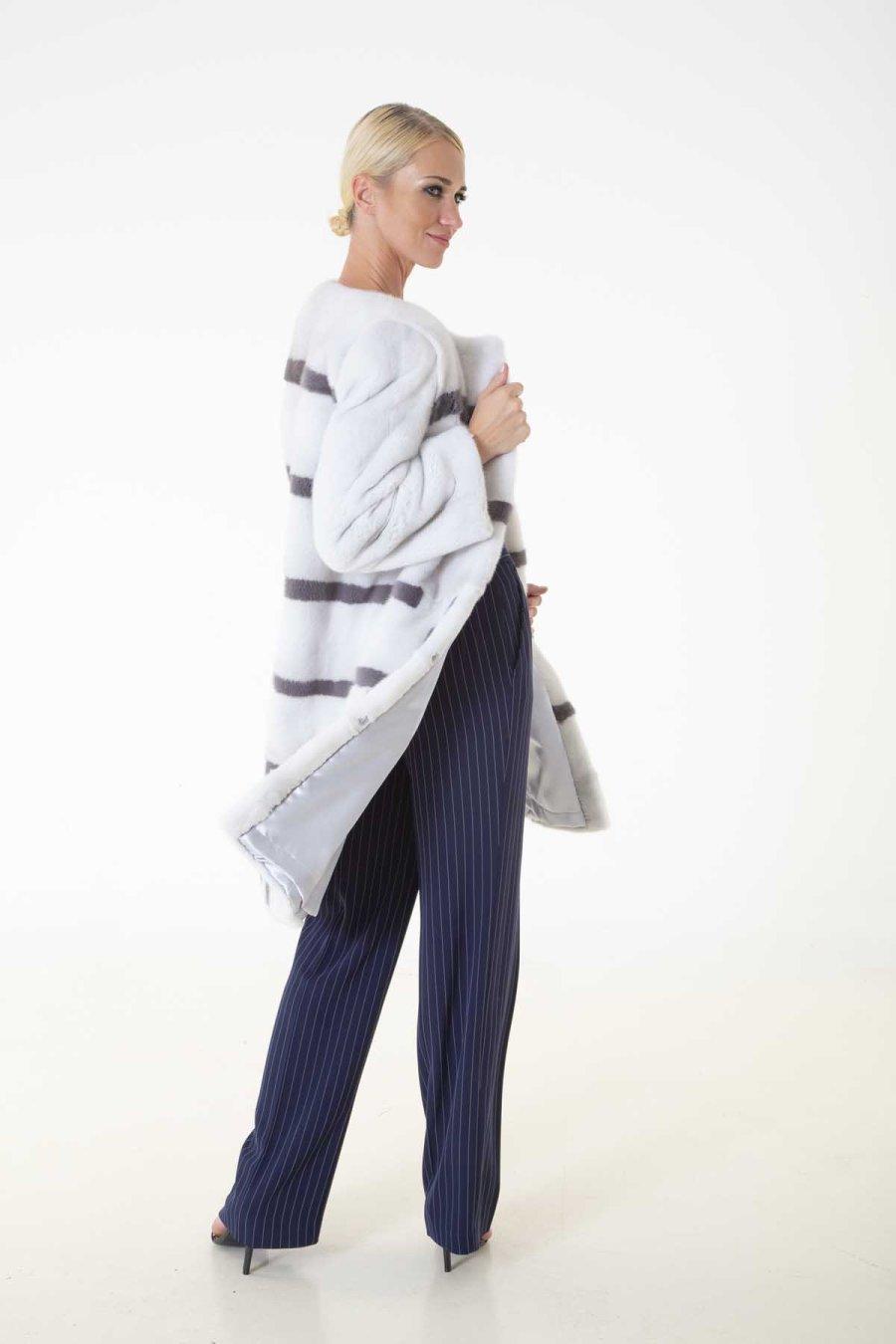 Violet Male Mink Jacket | Sarigianni Furs