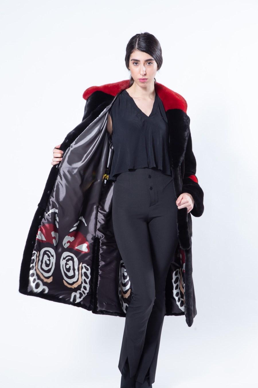 Aurora Blackglama Mink Coat | Пальто Аврора из меха норки Blackglama - Sarigianni Furs