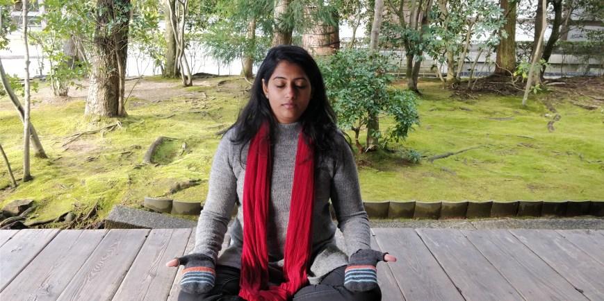 Meditation Mudra  to attain peace