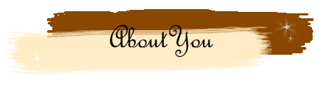 A supporting banner in the post about how to start a book blog, introducing the section about your 'About Me' page.