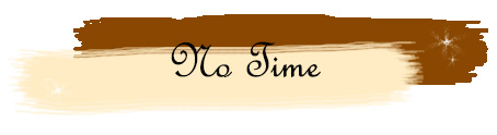 A supporting banner suggesting that a lack of time is not the same as writer's burnout.
