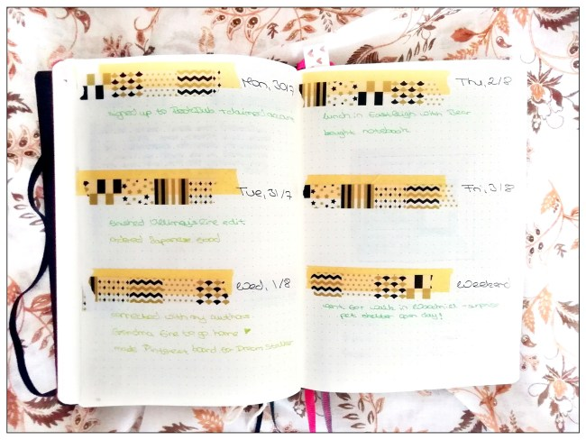 How My Bullet Journal Helps Me Stay Organised and Sane | Gratitude Log